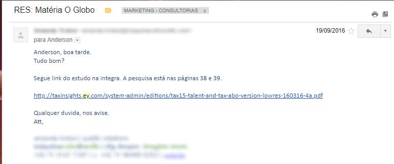 Email Matéria Profissão de Contador