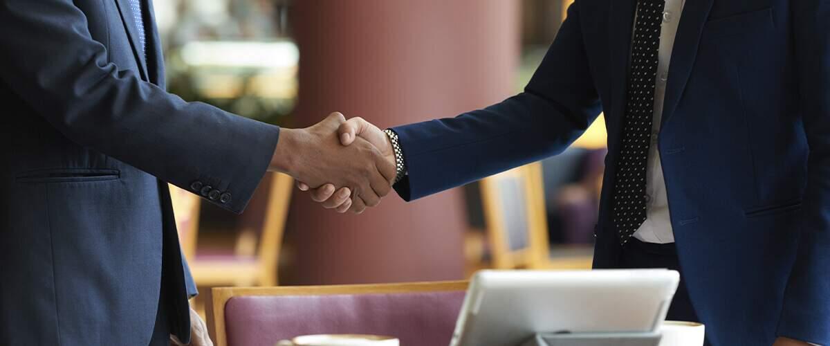 parceria estabelecida com confiança e respeito