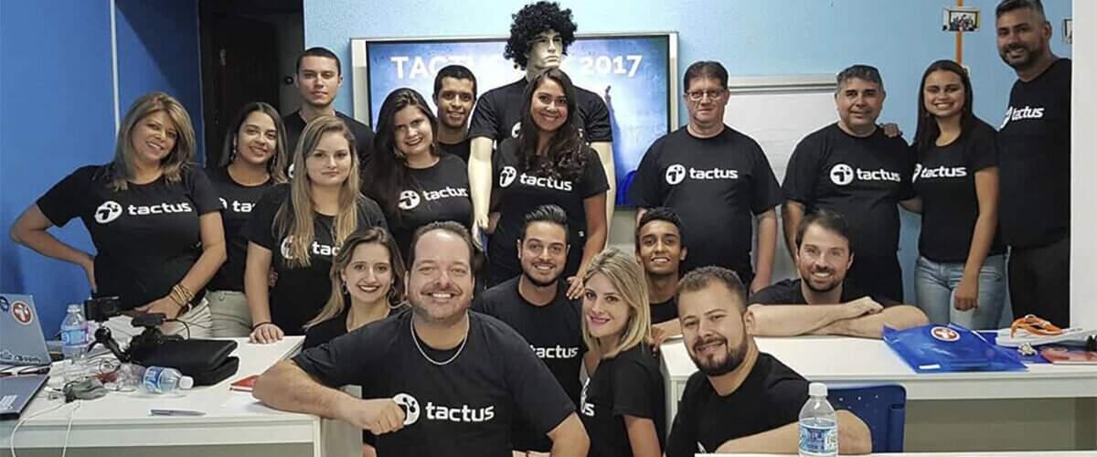 Imagem que represente equipe Tactus em 2017